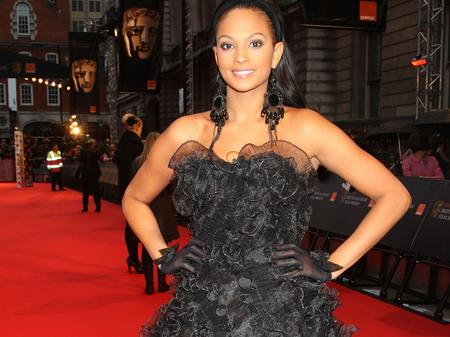 Alesha Dixon at the BAFTAs 2009