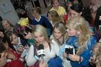 Image 8: JLS fans surround Capital