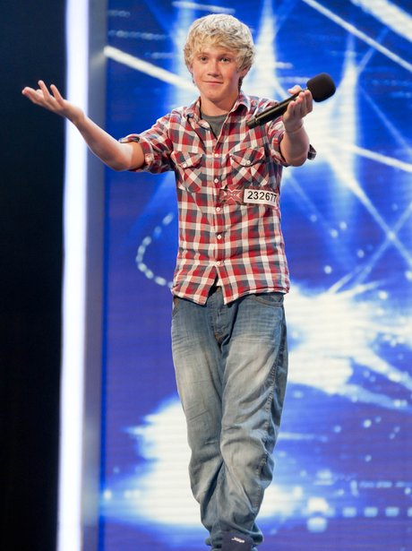 Nial at the X Factor 2010 auditions