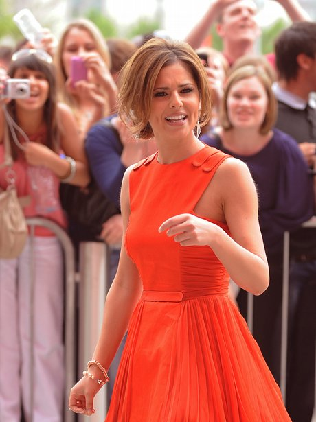 Cheryl Cole arriving at X Factor