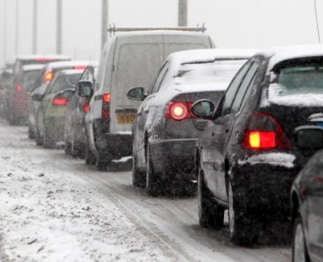 Snowy Birmingham