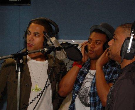 JLS in the Capital East Midlands Studio