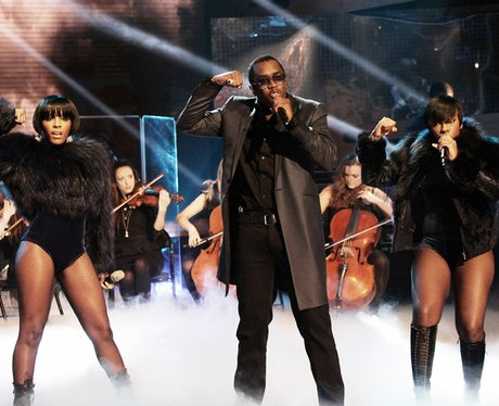 p diddy performs live