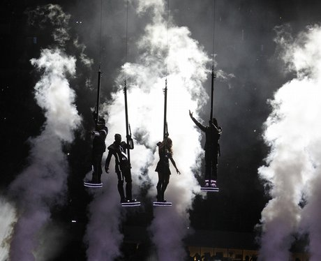 black eyed peas at the The Superbowl XLV