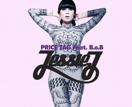Jessie J's single artwork for song 'Price Tag'
