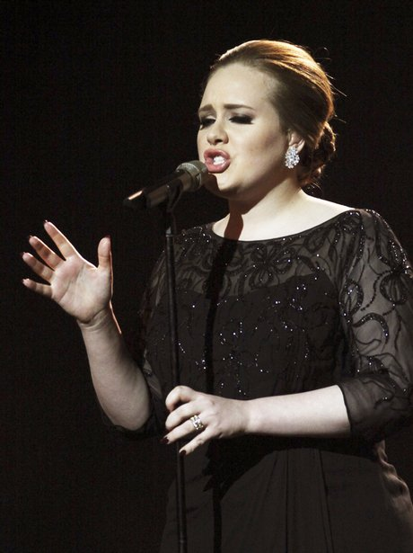 Adele sings 'Someone Like You' live at the 2011 BRIT Awards