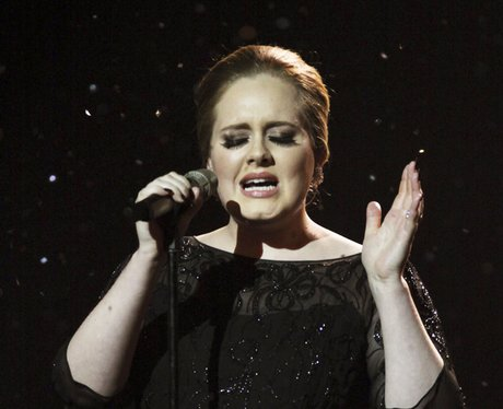 Adele live at the BRIT Awards