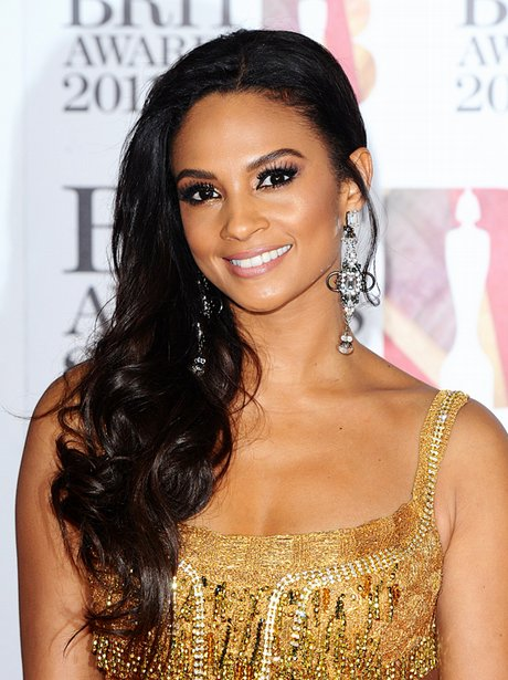 Alesha Dixon arriving for the 2011 Brit Awards