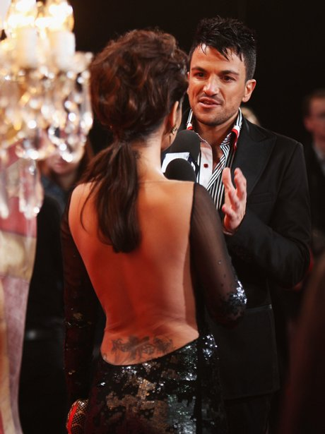 Chery Cole and Peter Andre