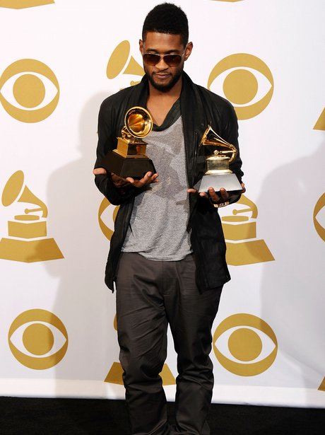 usher at the Grammy awards