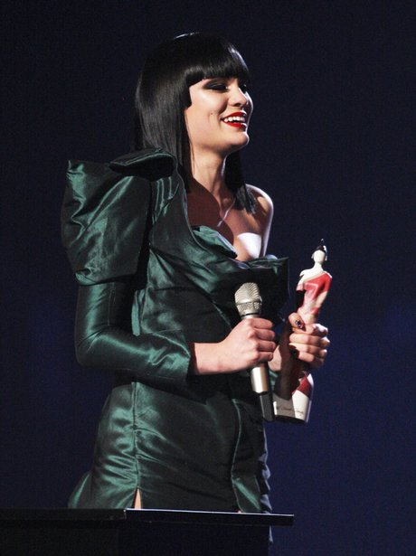 Jessie J at the Brit Awards