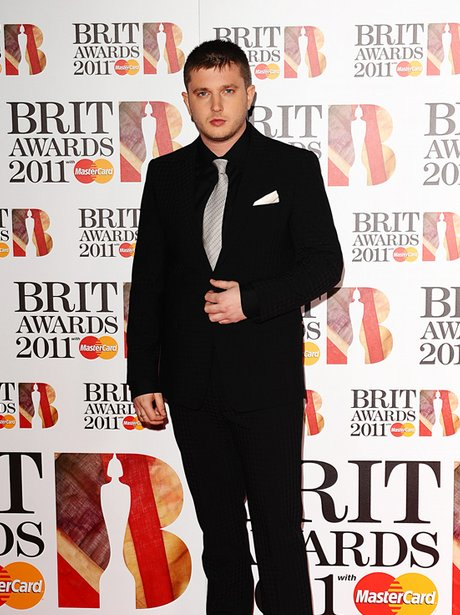 Plan B arriving for the 2011 Brit Awards