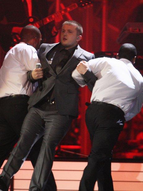 Plan B live at the Brit Awards
