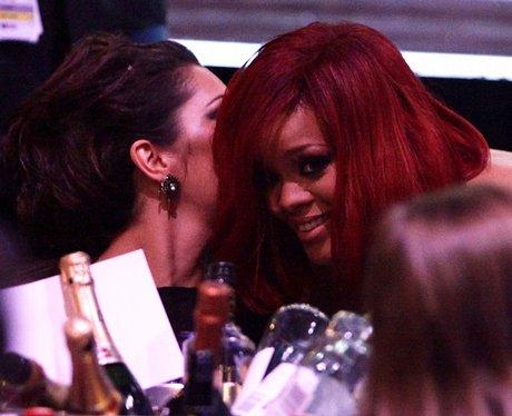 Rihanna and Cheryl Cole