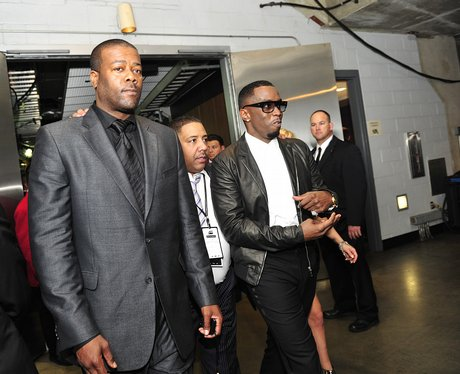 Sean Diddy Combs The Grammy Awards backstage