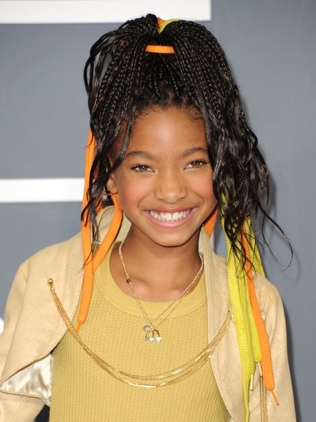 Willow Smith at the Grammy Awards