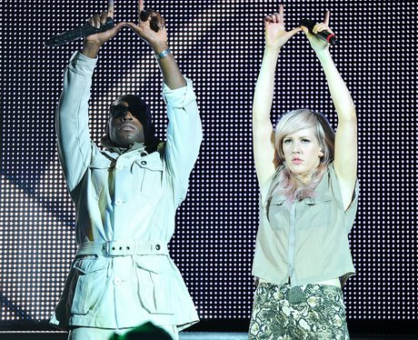Tinie Tempah and Ellie Goulding  at Hammersmith Ap