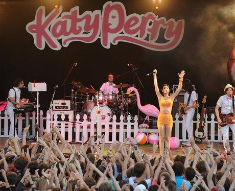 Katy Perry live in switzerland