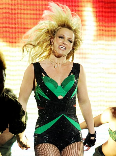 """Britney Spears performs on the """"Jimmy Kimmel"""" Show"""