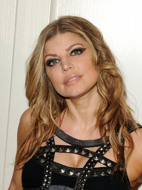 fergie on the red carpet
