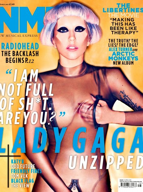 Lady Gaga on NME