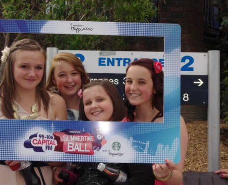 Olly Murs fans outside the Arena