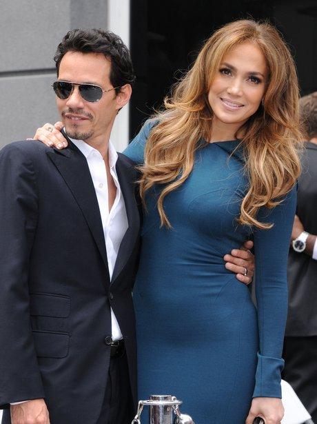 Jennifer Lopez on the Walk of Fame
