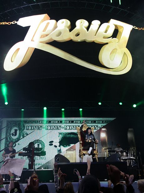 Jessie J live at the 2011 Summertime Ball
