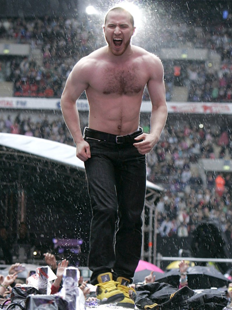 Mike Posner live at the 2011 Summertime Ball