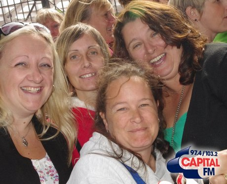 Take That Fans in Cardiff