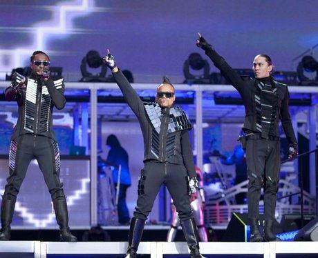 Black Eyed Peas perform live