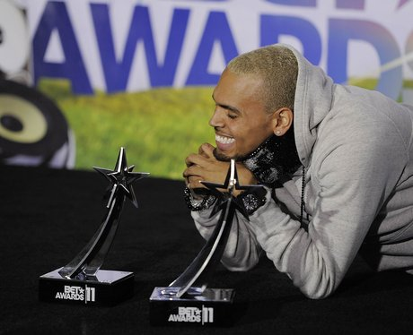 THE BET AWARDS 2011 chris brown