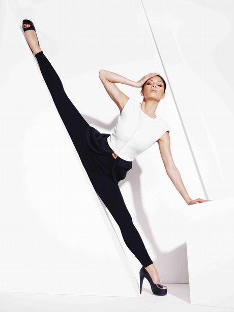 Nicole Scherzinger in InStyle magazine photo shoot