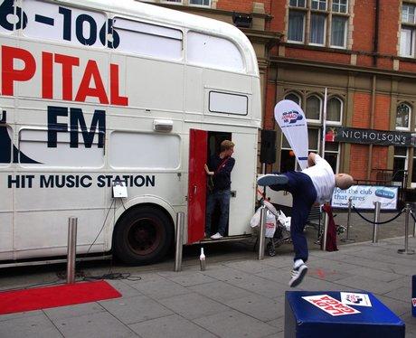 Capital FM Summer Bus Tour - Nottingham