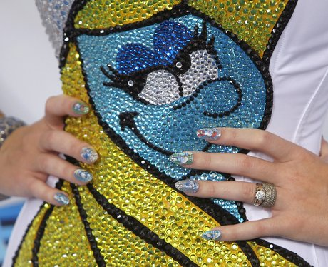 Katy Perry at The Smurfs' premiere