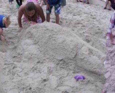Gunwharf Beach 30.07