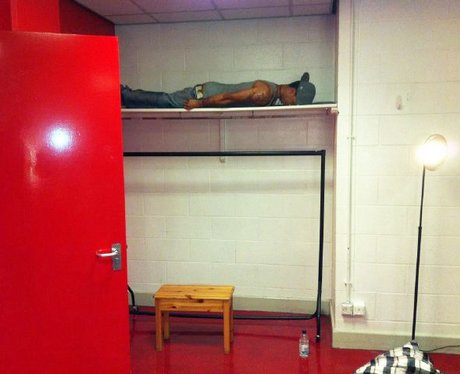 JLS planking in a picture on Twitter