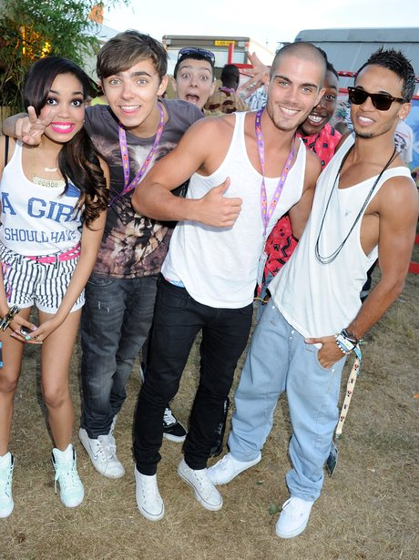 Dionne Bromfield, Nathan and Max from The Wanted and JLS' Aston.