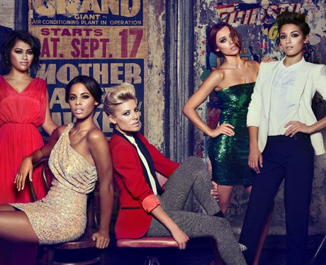 The Saturdays' photoshoot in Look magazine with new hairstyles