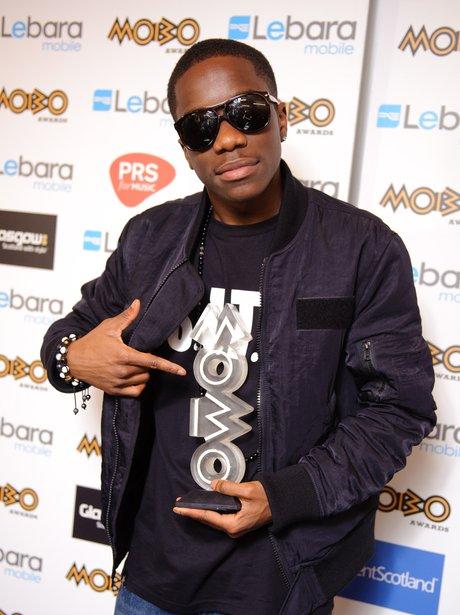 Tinchy Stryder Mobo Awards 2011