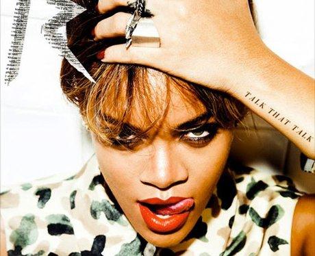 Rihanna's 'Talk That Talk' album cover
