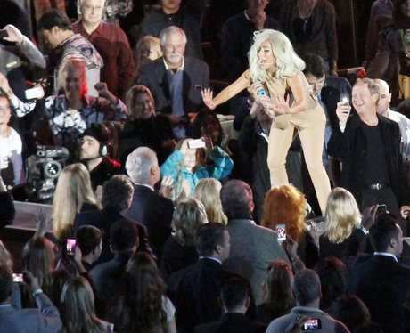 Lady Gaga live