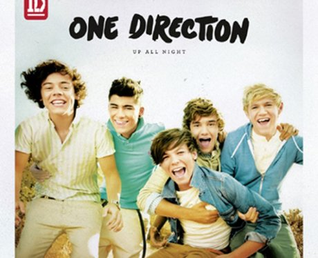One Direction's 'Up All Night' album cover