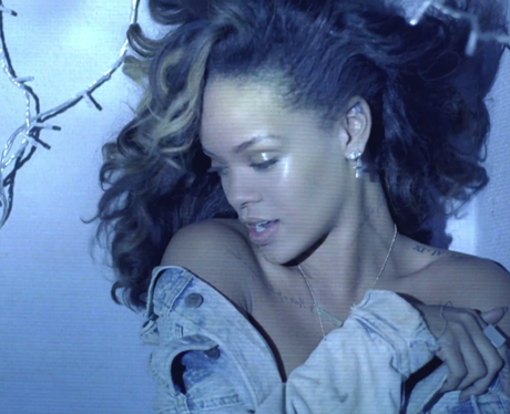 A still from Rihanna's video for 'We Found Love'