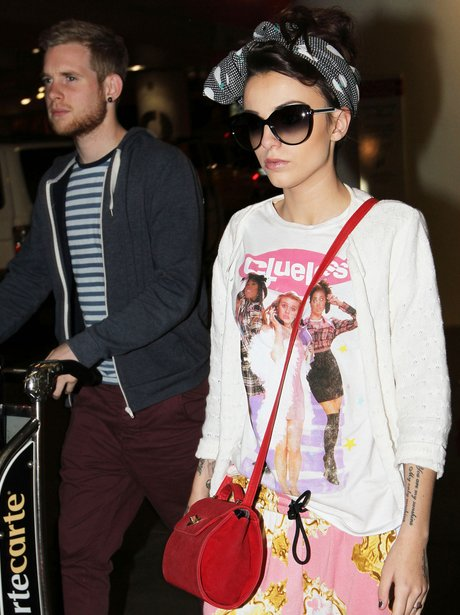 Cher Lloyd with Engagement Ring