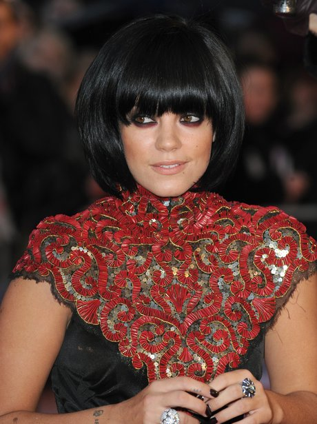 Lily Allen poses