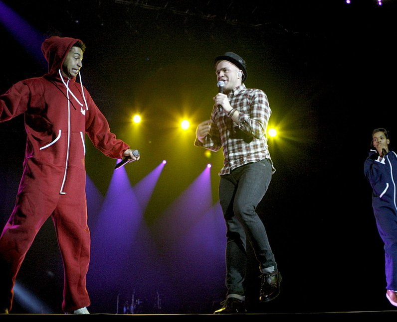Olly Murs and Rizzle Kicks live at the 2011 Jingle