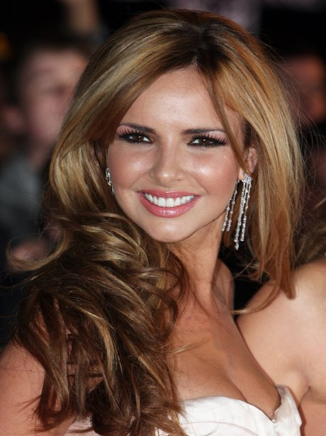 Nadine Coyle on the red carpet