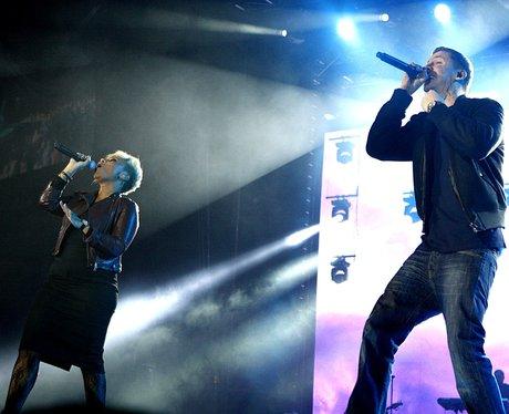 Emeli Sande and Professor Green live at the 2011 Jingle Bell Ball