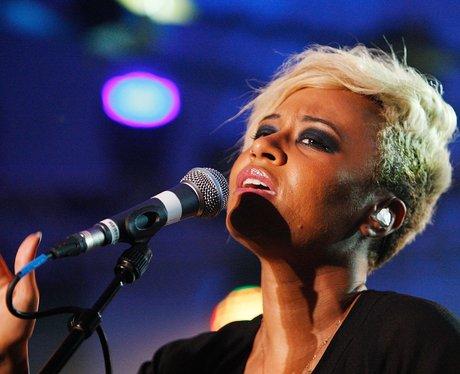 Emeli Sande performs